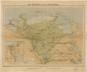 Das Nil - Delta und der Sues-Kanal