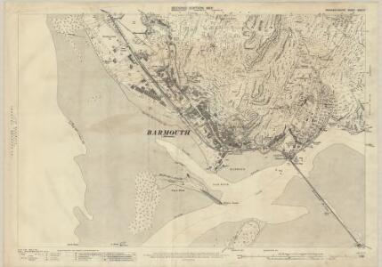 Merionethshire XXXVI.6 (includes: Abermo; Llangelynnin) - 25 Inch Map