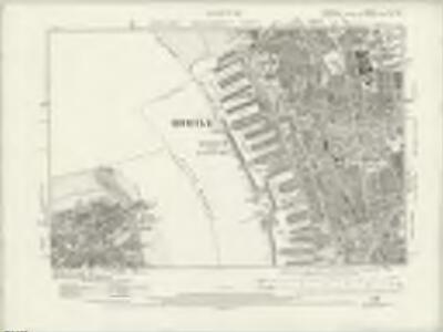 Cheshire VII.NE - OS Six-Inch Map