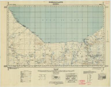 Somaliland 1:250 000, Berbera