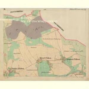 Fleken - c1669-1-002 - Kaiserpflichtexemplar der Landkarten des stabilen Katasters