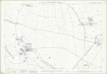 Gloucestershire XXXVI.6 (includes: Hampnett; Northleach with Eastington; Turkdean) - 25 Inch Map