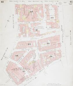 Insurance Plan of Bristol Vol II: sheet 43