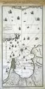 Carte de la baye et du détroit de Gibraltar