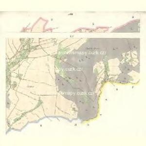 Gross Aurzim (Welky Auřim) - c8466-1-012 - Kaiserpflichtexemplar der Landkarten des stabilen Katasters