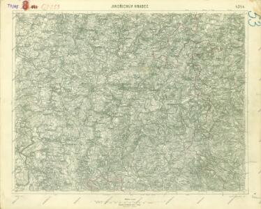 III. vojenské mapování 4354