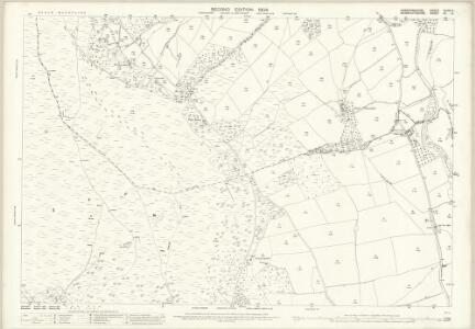 Herefordshire XLVIII.4 (includes: Crucornau Fawr; Longtown) - 25 Inch Map