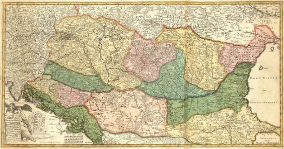 Novissima et Accuratissima totius Regni Hungariae, Dalmatiae, Croatiae, Sclavoniae, Bosniae, Serviae, Transylvaniae, cum Adiacentibus Regnis et Provinciis Tabula