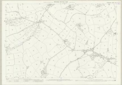 Devon LIV.5 (includes: Coldridge; Lapford; Nymet Rowland; Zeal Monachorum) - 25 Inch Map