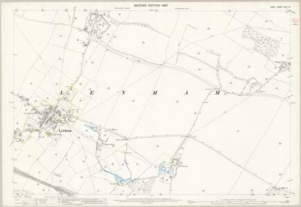 Kent XLIV.13 (includes: Lenham) - 25 Inch Map