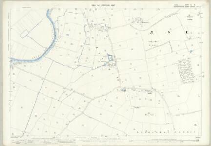 Essex (1st Ed/Rev 1862-96) XL.15 (includes: Hoddesdon; Nazeing; Roydon) - 25 Inch Map