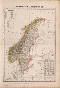 Composite: Schweden, Norwegen.