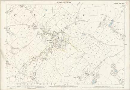 Cheshire XXXIII.5 (includes: Kingsley; Norley) - 25 Inch Map