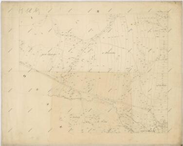 Katastrální mapa obce Mochtín