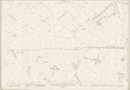 Derbyshire XXVIII.5 (includes: Hartington Middle Quarter; Middleton and Smerrill; Monyash; Youlgreave) - 25 Inch Map