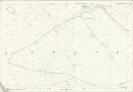 Lincolnshire LXXI.14 (includes: Branston and Mere; Heighington; Potter Hanworth) - 25 Inch Map