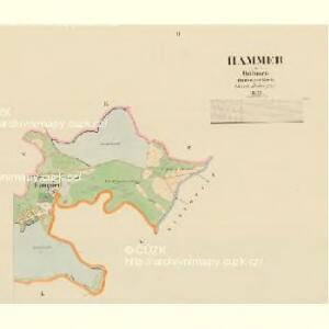 Hammer - c1766-1-002 - Kaiserpflichtexemplar der Landkarten des stabilen Katasters
