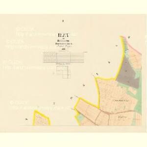 Bzy - c0730-1-001 - Kaiserpflichtexemplar der Landkarten des stabilen Katasters