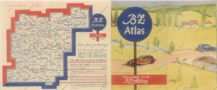 B.Z. - Karte von Oesterreich