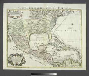 Tabula geographica Mexicæ et Floridæ &c.