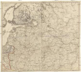Vollstaendiger Kriegs-Schauplatz in Pohlen und Russland im Jahre 1812