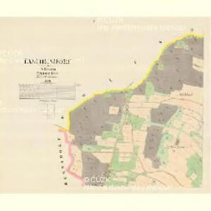 Taschendorf - m3119-1-001 - Kaiserpflichtexemplar der Landkarten des stabilen Katasters