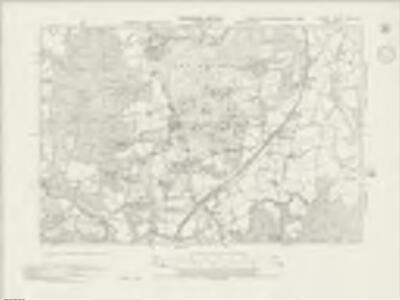 Surrey XXXIII.SE - OS Six-Inch Map