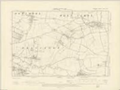 Somerset LXXIV.SW - OS Six-Inch Map