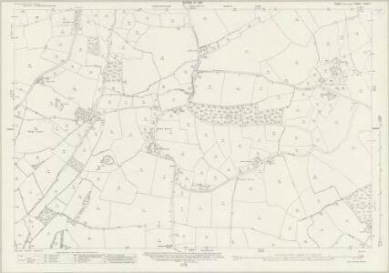 Essex (New Series 1913-) n XXIV.7 (includes: Great Easton; Thaxted) - 25 Inch Map