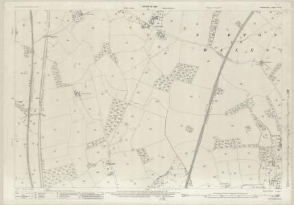 Shropshire IX.10 (includes: Adderley; Norton In Hales) - 25 Inch Map