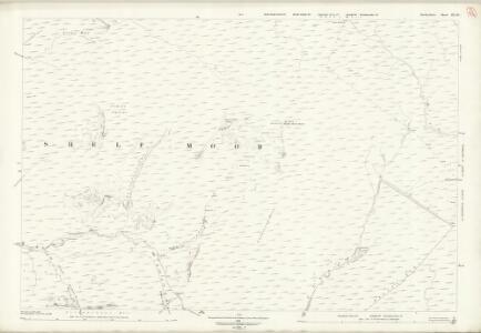 Derbyshire III.10 (includes: Charlesworth; Hope Woodlands) - 25 Inch Map