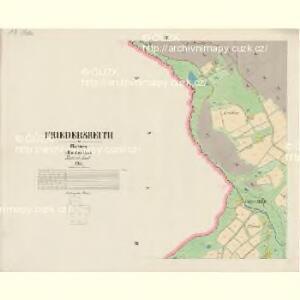 Friedersreith - c5647-3-002 - Kaiserpflichtexemplar der Landkarten des stabilen Katasters
