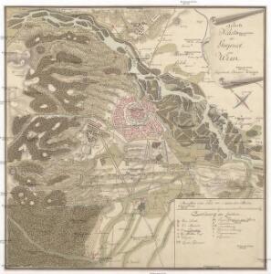 Neueste Karte der Gegend um Wien