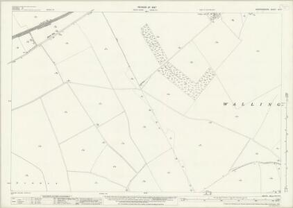 Hertfordshire VIII.5 (includes: Bygrave; Clothall; Wallington) - 25 Inch Map
