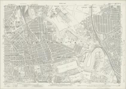 Essex (New Series 1913-) n LXXXVI.9 (includes: Poplar Borough; West Ham) - 25 Inch Map