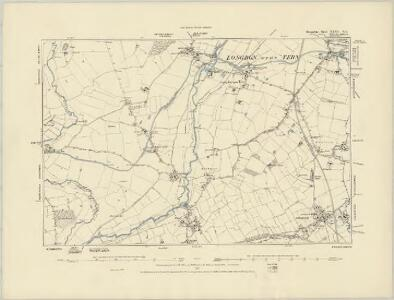 Shropshire XXXV.NW - OS Six-Inch Map