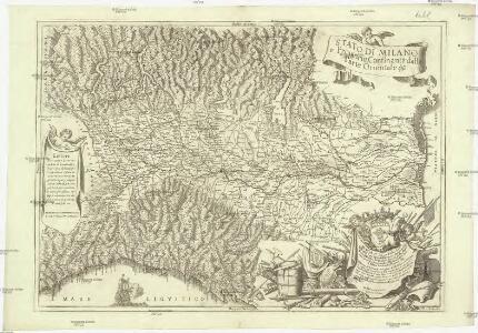 Statto di Milano e prouincie confinanti dalla parte orientale &