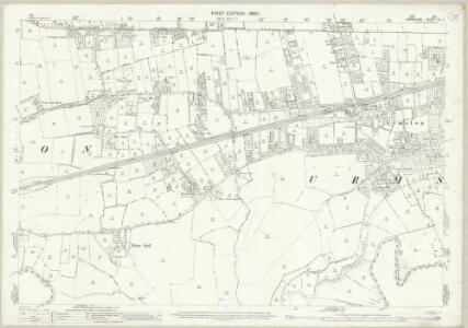 Lancashire CX.3 (includes: Carrington; Davyhulme; Flixton; Sale; Urmston) - 25 Inch Map