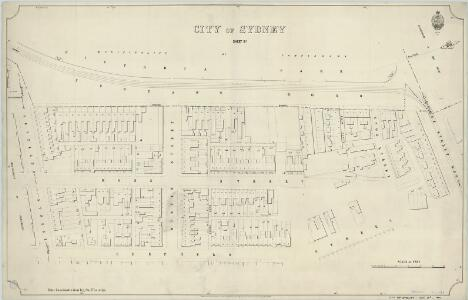 City of Sydney, Sheet B2, 1894