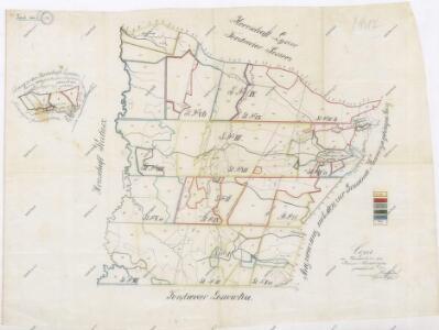 Přehledná mapa revíru Niewoczyn