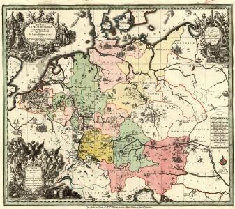 Historia Imperii Romano-Germanici, nec non finitimarum Regionum In Mappa exhibita, ac aeri incisa