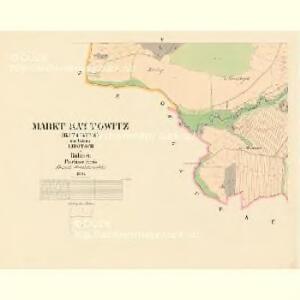 Kattowitz (Katowitz) - c3072-1-005 - Kaiserpflichtexemplar der Landkarten des stabilen Katasters