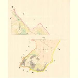 Schlögelsdorf (Schlölow) - m3028-1-003 - Kaiserpflichtexemplar der Landkarten des stabilen Katasters