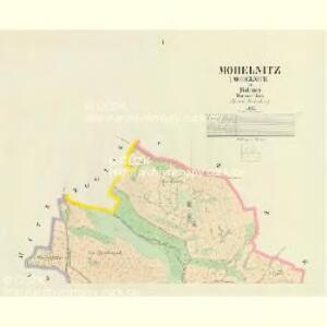 Mohelnitz (Mohelnice) - c4803-1-001 - Kaiserpflichtexemplar der Landkarten des stabilen Katasters