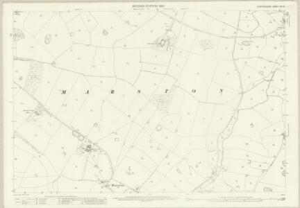 Staffordshire XXX.15 (includes: Marston; Salt And Enson) - 25 Inch Map