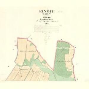 Einöth (Renot) - m2579-1-001 - Kaiserpflichtexemplar der Landkarten des stabilen Katasters