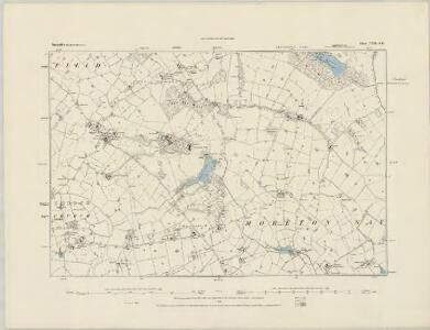 Shropshire VIII.SW - OS Six-Inch Map