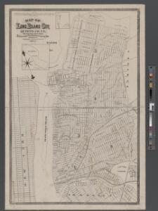 Map of Long Island City, Queens County, N. Y., showing farmlines, reduced from Commissioners new city map.
