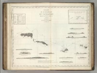 Chart of the Archipelago of Navigators (Samoa)