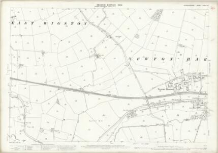 Leicestershire XXXVII.16 (includes: Kilby; Wigston Magna; Wistow) - 25 Inch Map